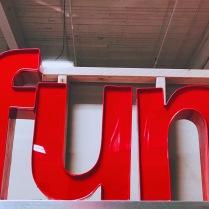 it's fun because it says it's fun