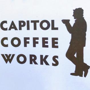 Capitol Coffee Works Postcard