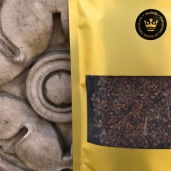 SELEUŠS-SATIN™ 73.73%+ Bar Roasted Cacao Nibs *artisan handcrafted chocolate bar a neutral dark chocolate topped with roasted cacao nibs