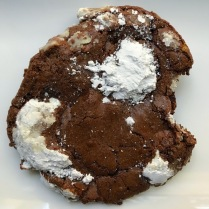 Lowrider Baking Company - The Pillow Mint Cookie: dark chocolate with loads of Andes mints mixed in