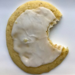 Lowrider Baking Company - Lemon Lavender Ricotta Cookie: fresh lemons, grounded lavender and ricotta topped with a lemon glaze
