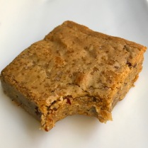 Lowrider Baking Company - Brown Butter Pecan Blondie: loads of brown butter, brown sugar, toasted pecans and sea salt