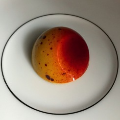 Christopher Elbow Chocolate Passion Fruit Caramel creamy caramel infused with the tropical taste of passion fruit