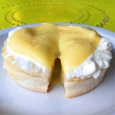 The Crumpet Shop: Lemon Curd with Ricotta Crumpet