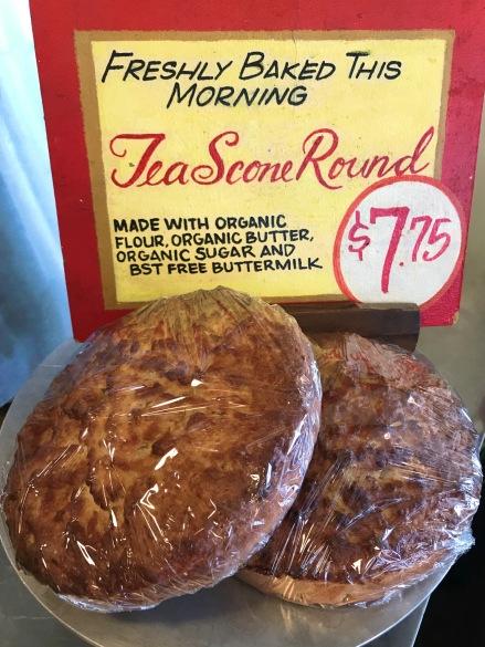 The Crumpet Shop: Tea Scone Rounds all organic flour, butter, sugar and BST Free buttermilk