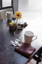 Urbane table setting