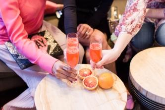 Handcrafted Blood Orange Mimosa