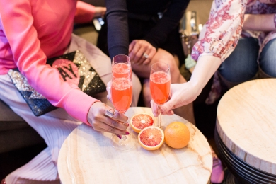 Handcrafted Blood Orange Mimosa